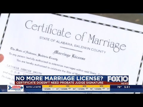 Here's How Getting Married In Alabama Will Change With No Marriage Licenses