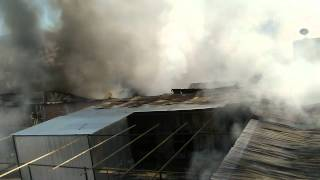 Incendio en la calle San Juan de Dios - Arequipa