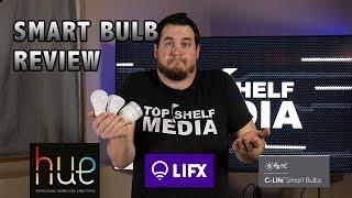 Philips Hue vs Lifx vs GE C-Life - Smart Light Review