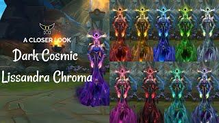 Dark Cosmic Lissandra Chromas
