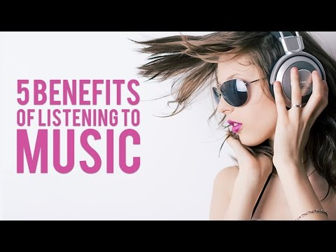 5 Benefits of Listening to Music!