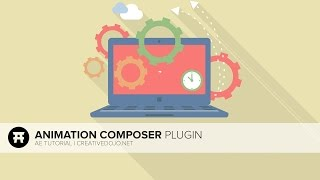 After Effects: Free Animation Composer Plugin for Fast Animations Tutorial