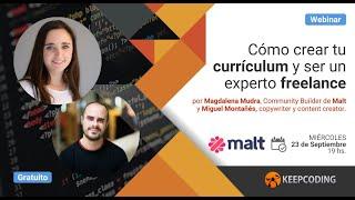 Webinar: Cómo crear tu currículum y ser un experto freelance