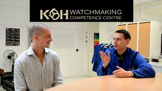 KHWCC | Interview with the director of an independent Swiss watchmaking school