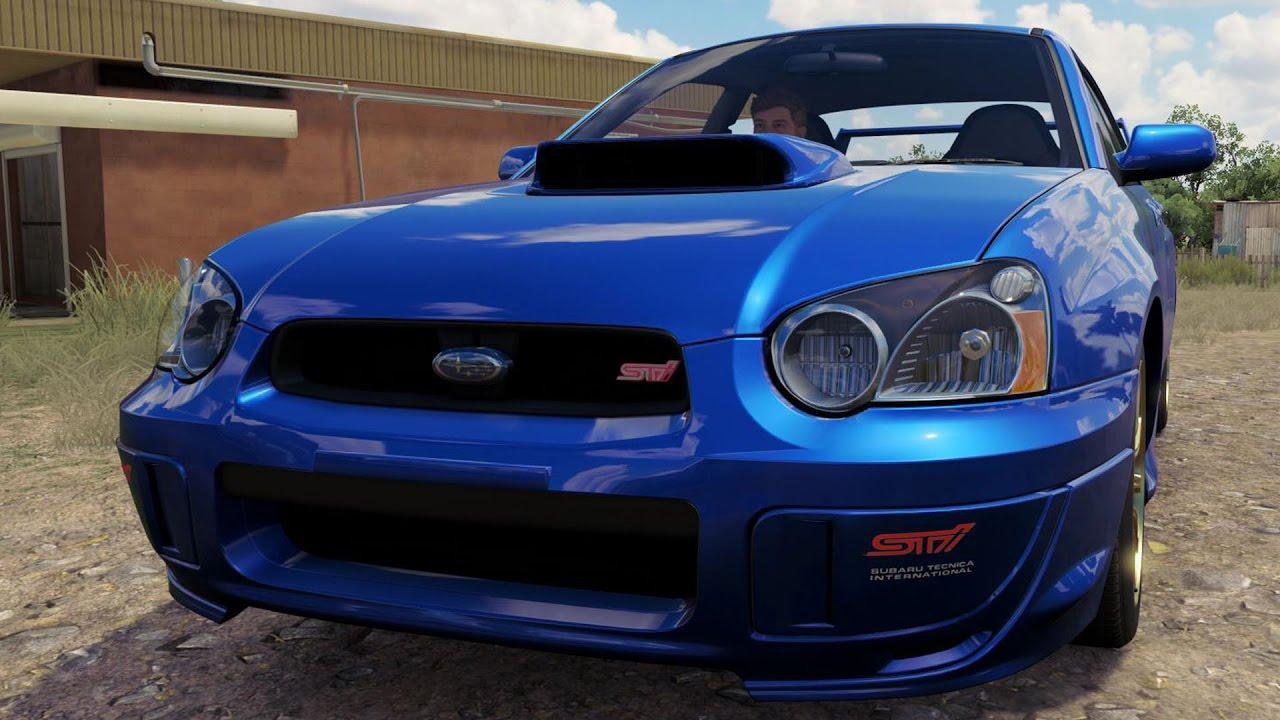 Subaru impreza wrx sti 2004 forza horizon 3 test drive free subaru impreza wrx sti 2004 forza horizon 3 test drive free roam gameplay hd 1080p60fps youtube vanachro Choice Image