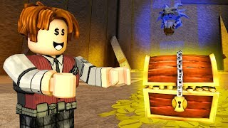 ROBLOX-ESCAPE AUS dem TREASURE CAVE (Escape Room-Treasure Cave)