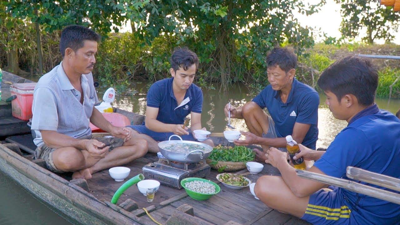 Về Sông Ăn Hến #01 ● Lẩu Hến Cua Đồng   Nét Quê #124