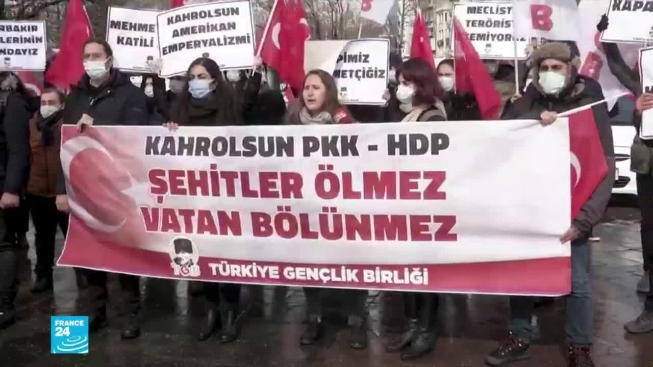 تركيا: تجريد أحد نواب حزب الشعب الديمقراطي من عضوية البرلمان ما يمهد لسجنه