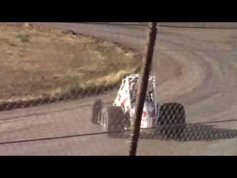 Wingless Heat Race - Madras Speedway 7-9-16