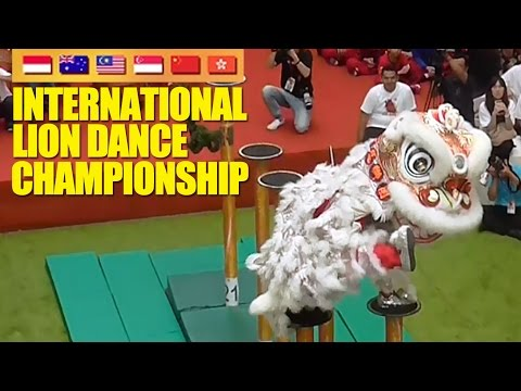 Kompetisi Barongsai Internasional - Indonesia dan Malaysia