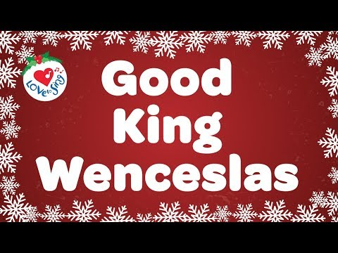 Good King Wenceslas with Lyrics Christmas Carol Sung by Children's Choir