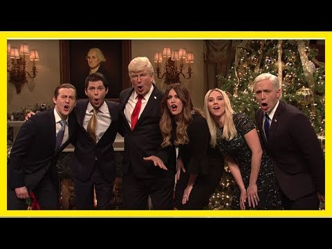 'snl': see trump's white house celebrate christmas, remember 'haters'
