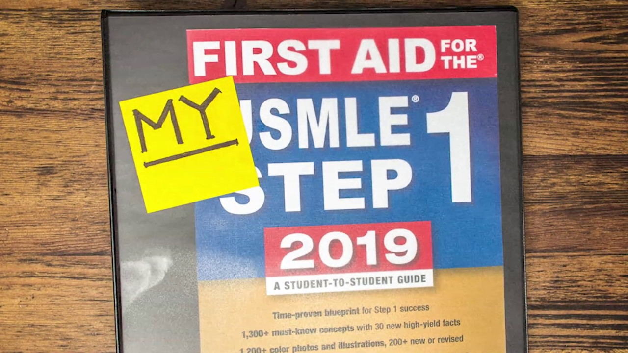 Student Introduction to First Aid for the USMLE Step 1 2019