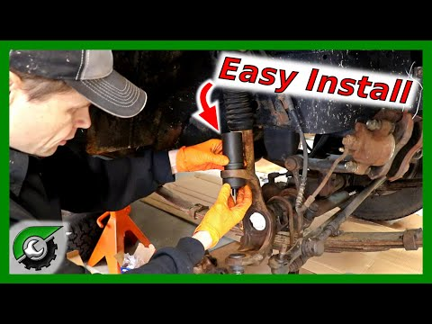 How to Install BALL JOINTS: Jeep Wrangler Dana 30