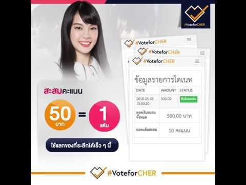 VoteforCHER Point  System