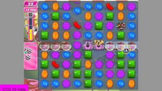 Candy Crush Saga Level 1045 No Boosters Cookie