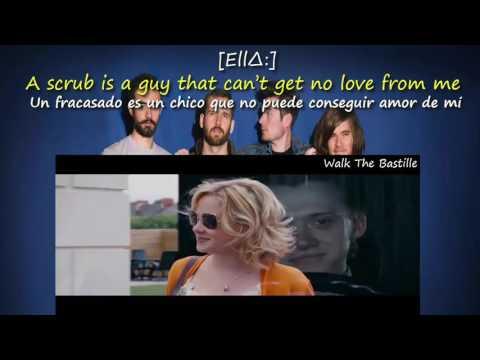 Bastille-No Angels feat.Ella Lyrics (español e ingles)
