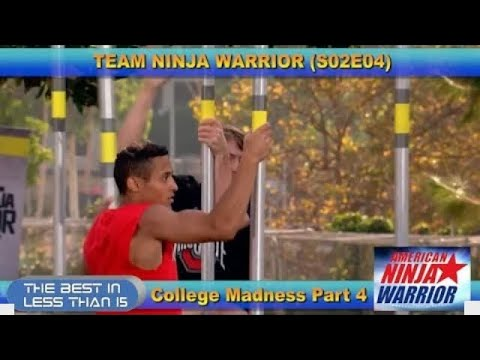 ANW: The Best of Team Ninja Warrior - College Madness Part 4 S02E04 akachak