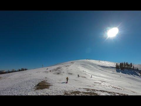 Славское Захар Беркут, спуск по синей трассе // Зимний отдых в Карпатах