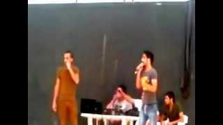 جوي وتيم - راب عراقي 2012 - من حفلة اعياد نوروز - iraqi rap