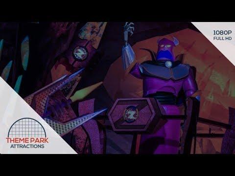 Buzz Lightyear Planet Rescue onride - Shanghai Disneyland