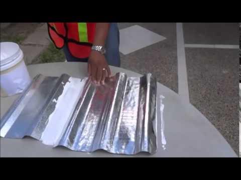 Aislante t rmico thermabar tecnicas de colocacion en - Lamina aislante termico ...