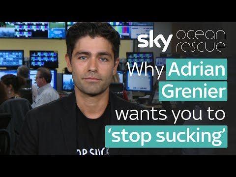 Why Adrian Grenier wants you to 'stop sucking'