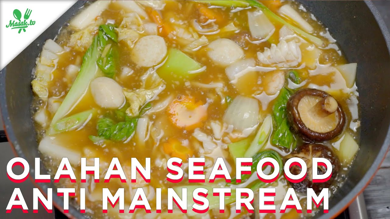 Resep Olahan Seafood ANTI MAINSTREAM!