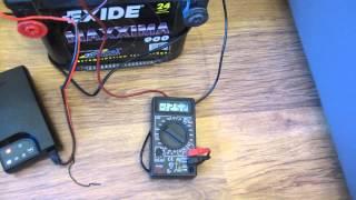 Зарядний пристрій BL1204 і акумулятор AGM Exide Maxxima 900