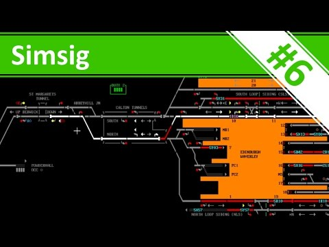 Red Lights Everywhere! - Ep.6 - Edinburgh - Simsig - Railway Signaller Simulator