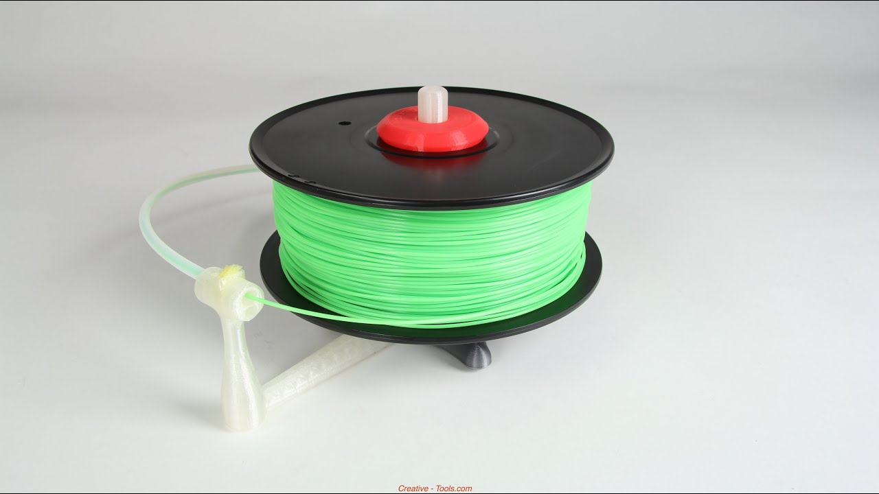 Universal stand-alone filament spool holder (fully 3D ...