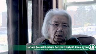 Honors Council Lecture Series -- Elizabeth Cook Lynn Thumbnail