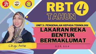 RBT T4 Unit 3: Lakaran Reka Bentuk Bermaklumat