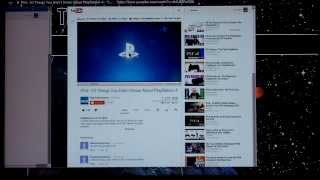 YouTube videos not playing in PS3 browser? Check out PS3 Bookmarklet