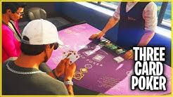 3 CARD POKER erklärt! CASINO DLC in GTA 5 - Viel Geld machen! Tipps/Tricks