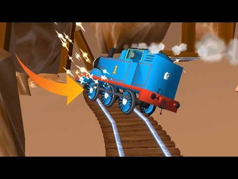 Thomas and Friends: Magical Tracks  Train Catch Fire Very Dangerous & Protection