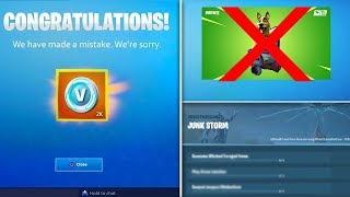 Mise à jour Fortnite: GRATUIT V-Bucks Rewards, NEW POI, Major Lazer Bundle - PLUS
