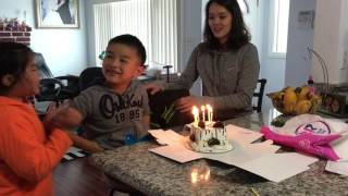 Andy-kim birthday @home 2017