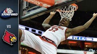 Louisville vs. Samford Basketball Highlights (2015-16)