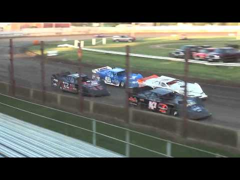 21st Annual Liberty 100 IMCA Late Model Last Chance Race 1 West Liberty Raceway 9/23/17