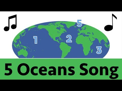 Image result for 5 oceans song
