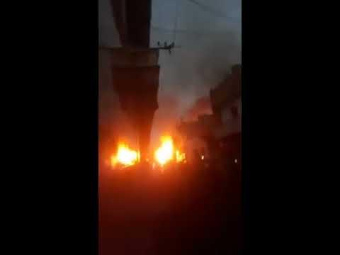 إنفجار قارورات الغاز بحي بولونجي وهران 2 - Explosion à Oran