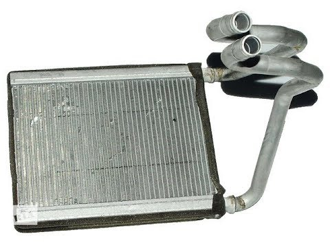 Kia Sportage 2 - Замена радиатора печки, без снятия панели.