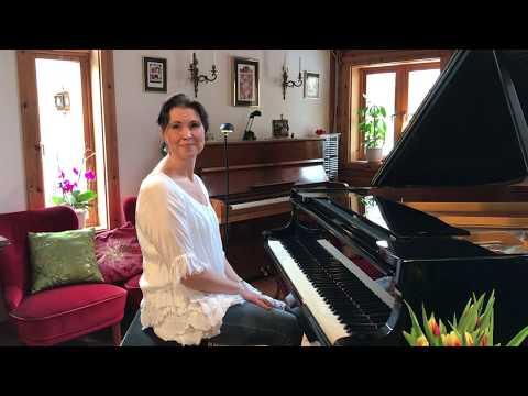 SOS ABBA (Piano Cover) Ulrika A. Rosén, piano.