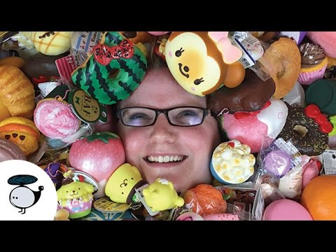 Squishy Collection Summer 2016 Over 300 Squishies!! - YouTube