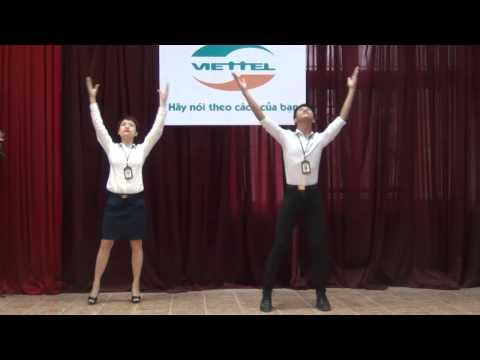 Bài thể dục giữa giờ - Trung tâm Thể thao Viettel