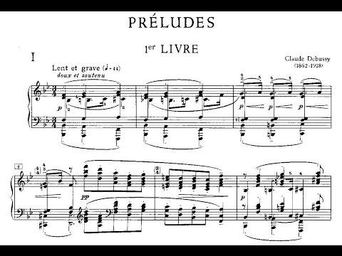 Claude Debussy: Préludes, livre I (1910)