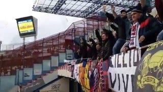 Catania - Casertana 0-1 Ultras Casertani Settore Ospiti