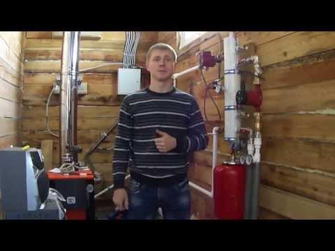 видео: Отопление в деревянном доме 120 м2