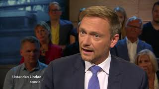 """Unter den Linden spezial: """"M. Kolster und M. Hirz im Gespräch mit Christian Lindner"""" vom 08.09.17"""